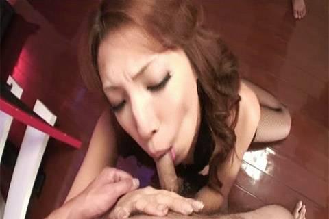 Aya Sakuraba insane bondage femdom with gimp