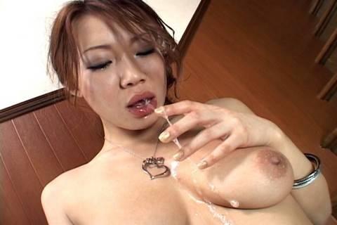 Misaki Asou best sloppy and messy blowjob!